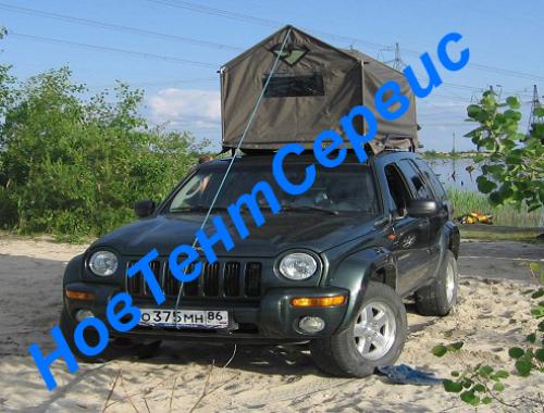 палатка на авто2